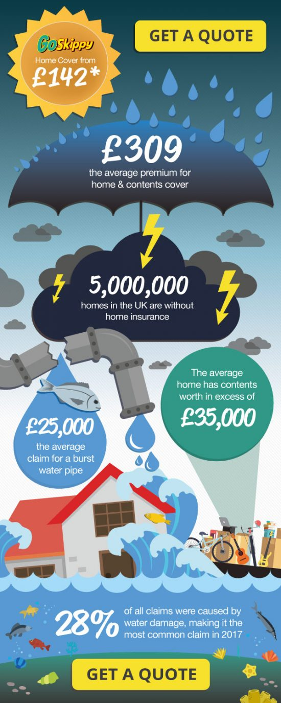GoSkippy Home Insurance Infographic