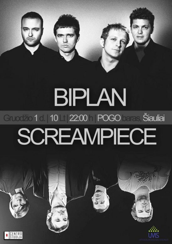 Biplan and Screampiece