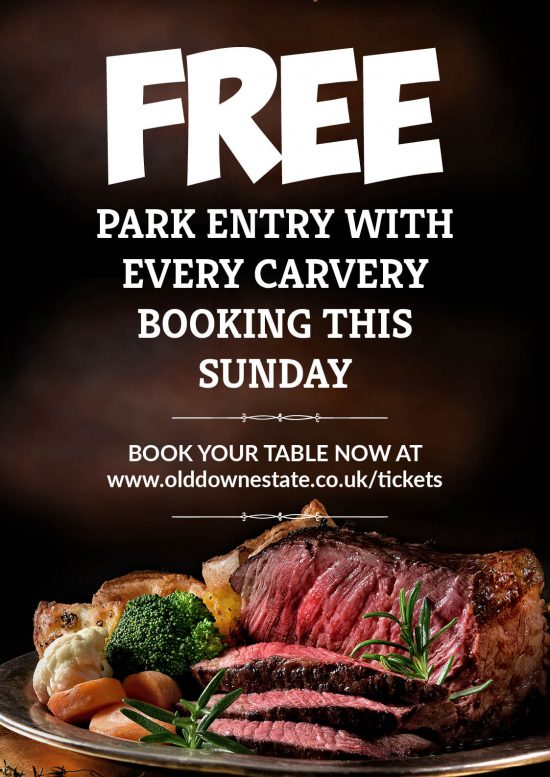 Free Carvery at Old Down Estate