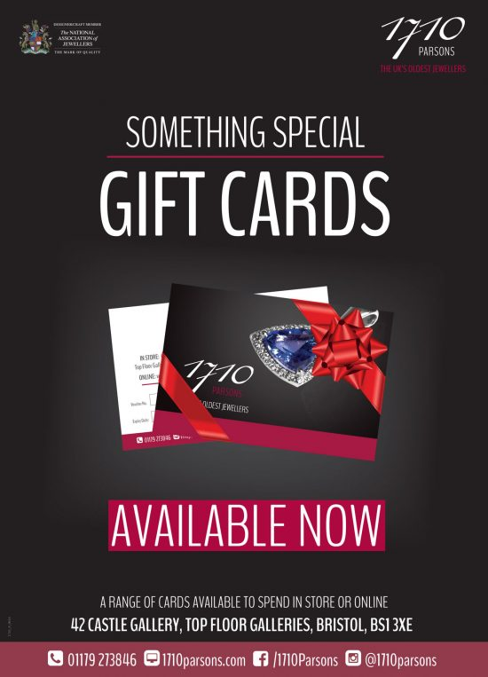 Parsons Jewellers Ltd Gift Cards