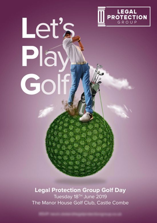 Legal Protection Group Let's Play Golf Event Invitation