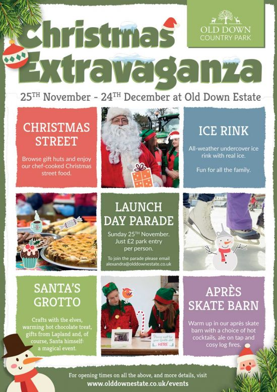 Christmas Extravaganza at Old Down Estate