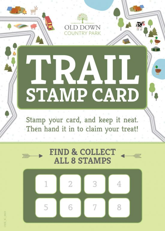 Trail Stamp Card